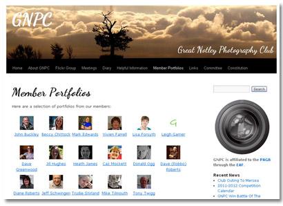 GNPC New website